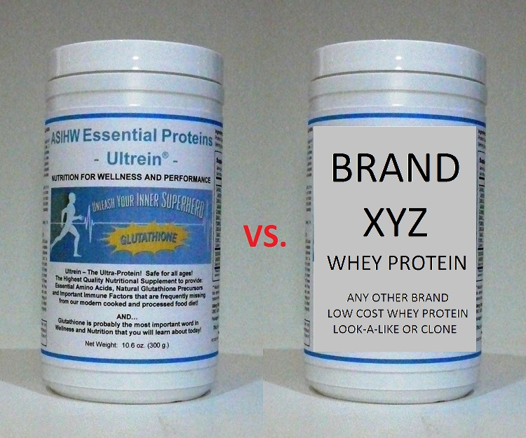 Ultrein™ vs. Other Whey Proteins